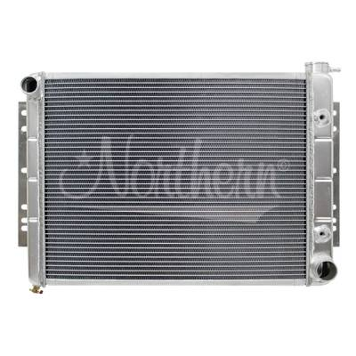 Northern Radiator - Northern 205070 Aluminum Radiator 62-70 Chevy Full Size Car 71-82 Chrysler Cars