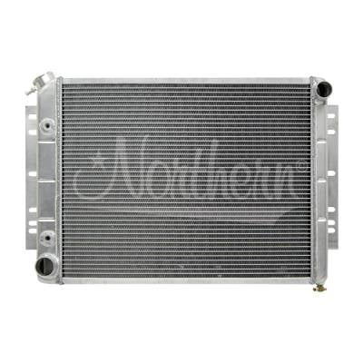 Northern Radiator - Northern 205071 Aluminum Radiator 66-78 Mopar Dodge Dart Charger Challenger