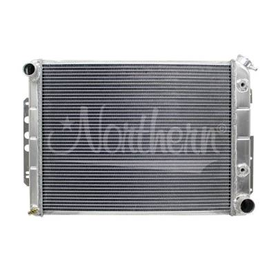 Northern Radiator - Northern 205072 Chevy Camaro 67-69 Aluminum Radiator W/ Auto Transmission Cooler
