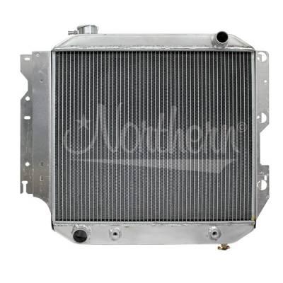 Northern Radiator - Northern 205087 Jeep 87-04 YJ TJ 4.0L Wrangler Aluminum Radiator w Trans Cooler