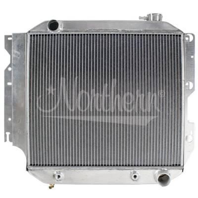 Northern Radiator - Northern 205088 Jeep 87-04 YJ TJ Wrangler SBC V8 Conversion Aluminum Radiator