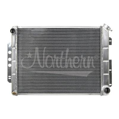 Northern Radiator - Northern 205125 Chevy Camaro 67-69 All Aluminum Radiator For Manual Transmission