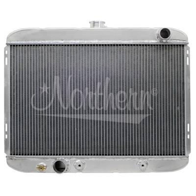 Northern Radiator - Northern 205132 Ford 67-69 Mustang 302 351 429 Aluminum Radiator w/ Trans Cooler