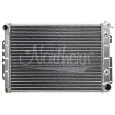Northern Radiator - Northern 205133 67-69 Chevy Camaro SS Aluminum Radiator w Big Block 396 & A/T