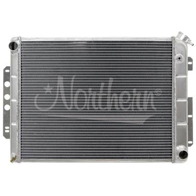 Northern Radiator - Northern 205140 Aluminum Radiator 67-69 Chevy Camaro LS LS1 Engine Swap Manual