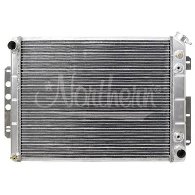 Northern Radiator - Northern 205141 Custom Aluminum Radiator for 67-69 Chevy Camaro LS Engine Swap