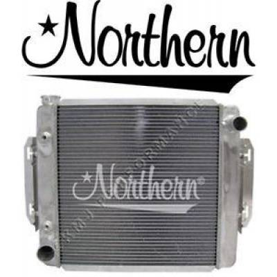Northern Radiator - Northern 205147 Universal Aluminum Crossflow Radiator w/ Trans Cooler Ford Mopar