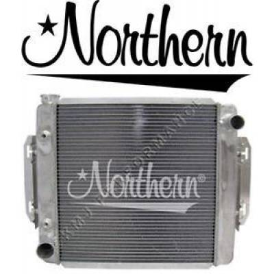 Northern Radiator - Northern 205148 Universal Aluminum Crossflow Radiator & Tranny Cooler Ford Mopar