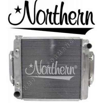 Northern Radiator - Northern 205148 Universal Aluminum Crossflow Radiator & Tranny Cooler Ford Mopar