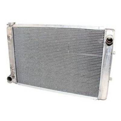 Northern Radiator - Northern 205149 Aluminum Ford Truck Pickup Radiator w/ Mount Kit & Trans Cooler