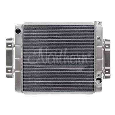 Northern Radiator - Northern 205151 Chevy GM Universal Aluminum Crossflow Radiator w/ Trans Cooler