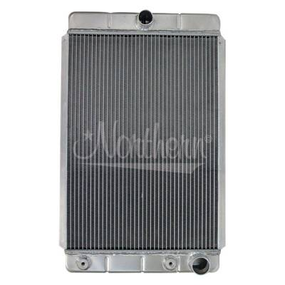 Northern Radiator - Northern 205161 Custom Hotrod 30s-40s Aluminum Downflow Radiator Right Outlet