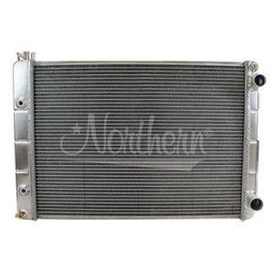 Northern Radiator - Northern 205182 Double-Pass Aluminum Radiator for 67-69 Chevy Camaro LS LSx Swap