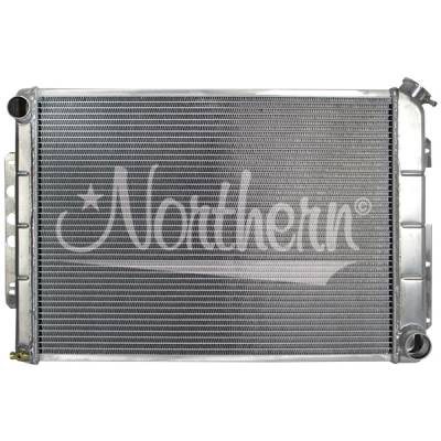 Northern Radiator - Northern 205184 Chevy 67-69 Camaro Aluminum Radiator Big Block V8 & Manual Trans