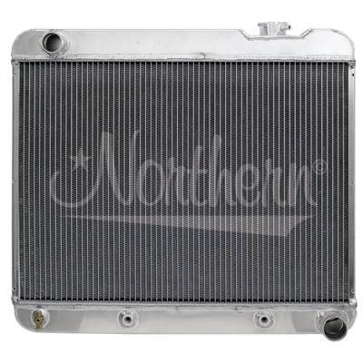 Northern Radiator - Northern 205194 Aluminum Radiator 64-67 Pontiac GTO V8 w/ Automatic Transmission