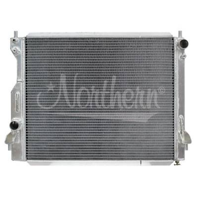 Northern Radiator - Northern 205196 Aluminum Radiator 05-14 Ford Mustang V6 or V8 With Manual Trans