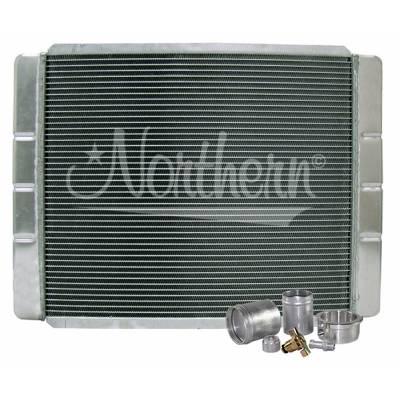 "Northern Radiator - Northern 209601B Customizable Aluminum Radiator 19"" x 26"" Crossflow or Downflow"