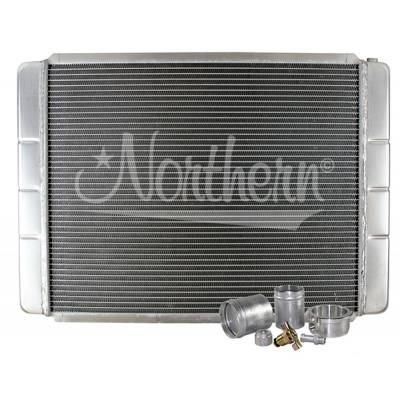 "Northern Radiator - Northern 209602B Customizable Aluminum Radiator 19"" x 28"" Crossflow or Downflow"