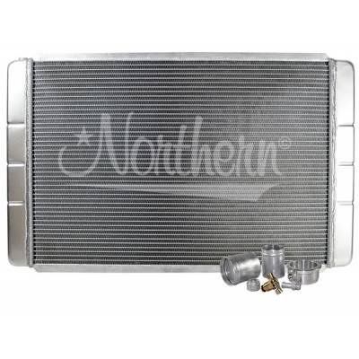 "Northern Radiator - Northern 209603B Customizable Aluminum Radiator 19"" x 31"" Crossflow or Downflow"