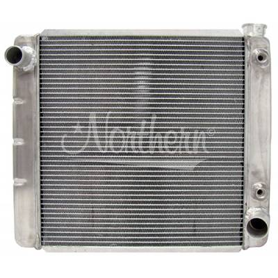 Northern Radiator - Northern 209612 Aluminum Radiator Chevy GM 22 X 19 With Transmission Oil Cooler