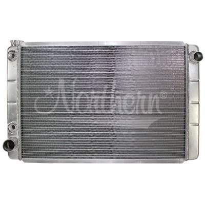 "Northern Radiator - Northern 31"" X 19"" Hobby Stock Aluminum Radiator W/Transmission Oil Cooler IMCA"