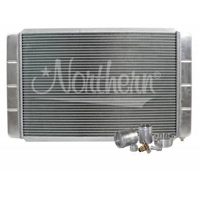 "Northern Radiator - Northern 209620B Customizable Aluminum Radiator 16"" x 28"" Crossflow or Downflow"