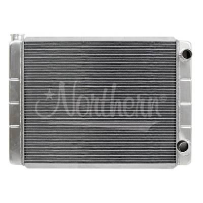 "Northern Radiator - Northern Aluminum Radiator 27 1/2"" x 19"" Double Pass 2-Row"
