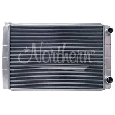"Northern Radiator - Northern 209626 Universal GM Chevy Style Aluminum Radiator 31"" x 19"" Double Pass"