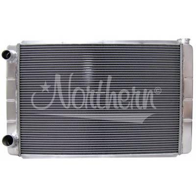 Northern Radiator - Northern 209627 Aluminum Racing Radiator Ford Mopar 31 x 19 Double Pass Race Pro