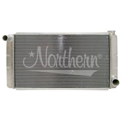 "Northern Radiator - Northern 31"" X 16"" Low Profile Drag Race Aluminum Race Radiator Autocross NHRA"