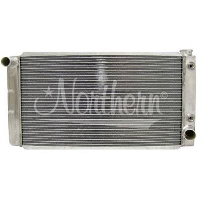 "Northern Radiator - Northern 31"" X 16"" Drag Race Low Profile Aluminum Race Radiator W/TOC IMCA NHRA"