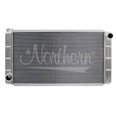 Northern Radiator - Northern 209630 Low Profile Ford Mopar Aluminum Racing Radiator 16x31 Universal
