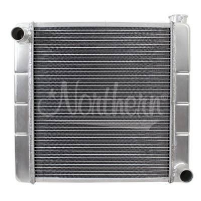 Northern Radiator - Northern 209632 Aluminum High Performance 2-Row GM Chevy Racing Radiator 19 x 20