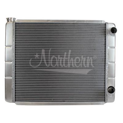 "Northern Radiator - Northern 26"" x 19""  Aluminum Double Pass Radiator"
