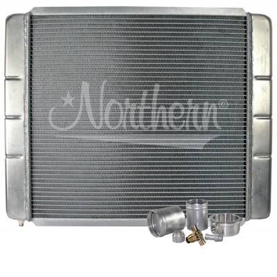 "Northern Radiator - Northern 209642B Customizable Aluminum Radiator 19"" x 24"" Crossflow or Downflow"