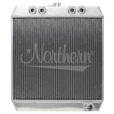 Northern Radiator - Northern 209649 Aluminum Downflow 305 360 410 Sprint Car Radiator 21 7/8 x19 1/4