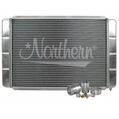 "Northern Radiator - Northern 209657B Customizable Aluminum Radiator 26"" X 16"" Crossflow or Downflow"