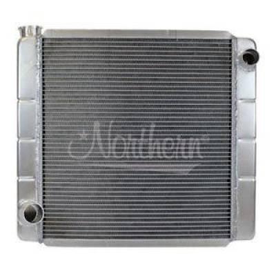Northern Radiator - Northern 209670 Universal Aluminum Racing Radiator Ford Mopar 22x19 Circle Track