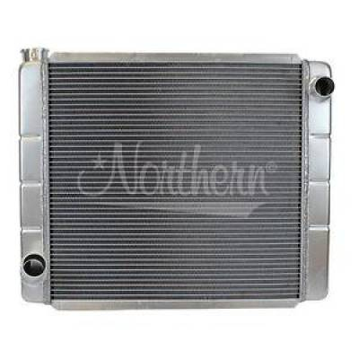 "Northern Radiator - Northern 209678 Ford Mopar All Aluminum Radiator Single Pass Race Pro 24"" x 19"""