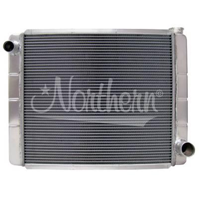Northern Radiator - Northern 209690 Triple Pass 2-Row Performance Aluminum Radiator GM Chevy 26 x 19