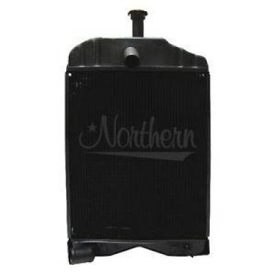 Northern Radiator - Northern 219547 Massey Ferguson 230 245 20C Tractor Radiator 3 Row 897004M91