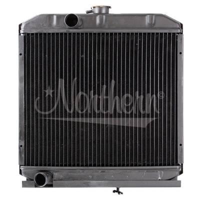 Northern Radiator - Northern 219822 Kubota Tractor Radiator OEM# 1540142060  1540172060  1530172060