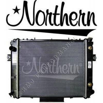 Northern Radiator - Northern 246075 Toyota 7FDU Forklift Radiator 1DZ 4Y 16410U217071 16410U217171