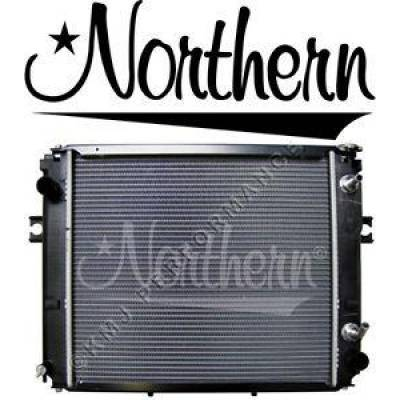 Northern Radiator - Northern 246081 Hyster Yale Forklift Radiator H65XM PTR Construction 580035306