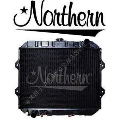 Northern Radiator - Northern 246110 Mitsubishi Caterpillar FGC GC Forklift Radiator 9360100400 5EM