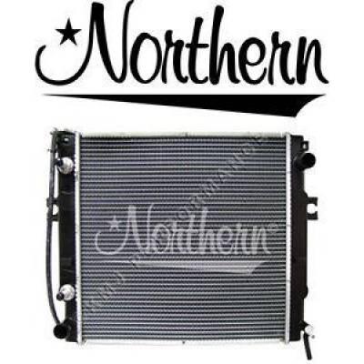Northern Radiator - Northern 246239 Mitsubishi Caterpillar Forklift Radiator w Cooler 93E0100010
