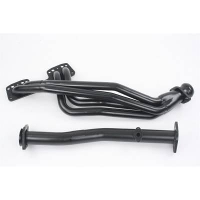 PaceSetter Performance Products - Pace Setter 70-1183 90-95 Toyota Pickup 4Runner 4WD 2.2L 2.4L Steel Header Black