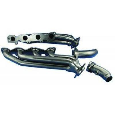 PaceSetter Performance Products - Pace Setter 70-1374 Mid Length Headers 2004-2005 Dodge Ram 1500 5.7L Hemi