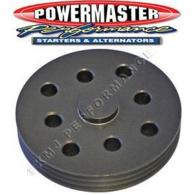 Powermaster - Powermaster 173 3 Groove Serpentine Water Pump Pulley for Circle Track