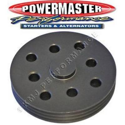 Circle Track & Racing - Powermaster - Powermaster 173 3 Groove Serpentine Water Pump Pulley for Circle Track